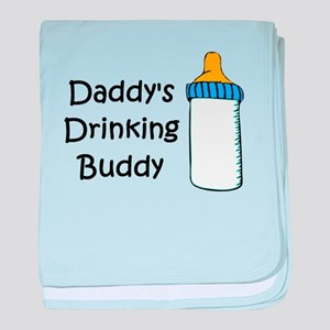 Daddy's Drinking Buddy baby blanket